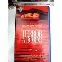 Terror A Bordo Vhs*