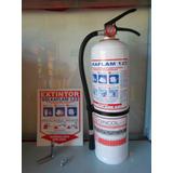 Extintor Solkaflam Certificado 3700 Grs ( 10 Libras )