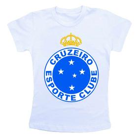 Kit Infantil Cruzeiro - Camisetas Manga Curta no Mercado Livre Brasil 3d73e65962ccb