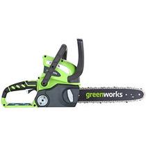 Motosierra Eléctrica Greenworks 40v Gmax