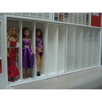 Estante Barbie 10 Nichos