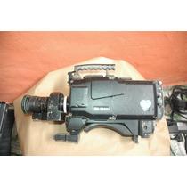 Camera Profissional Ikegami Hk-388p + Lente Canon