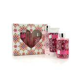 Set Amor Perfume, Gel De Ducha, Crema - Elementos Esenciales