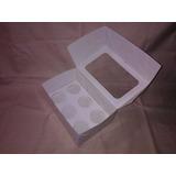 Cup Cake - Caja Para 6 Y 12 Unidades Oferta X Mayor