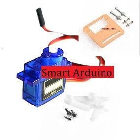 Servomotor Sg90 Torque 1.6 Kg Incluye Soporte Smart Arduino