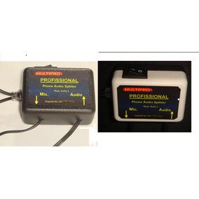 Chave De Áudio Hibrida Celular P. Radio Comum, Web, Mensagem