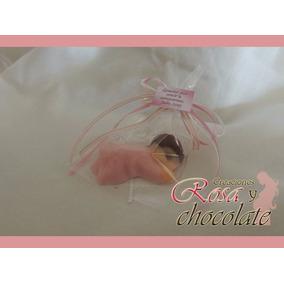 Recuerdos De Chocolate Para El Nacimiento Del Bebé 10 X $100