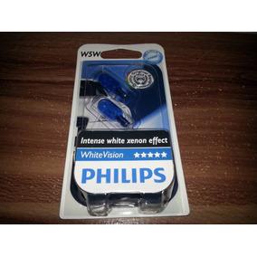 Lampara W5w Posicion 12961 Philips Blue Vision X Par