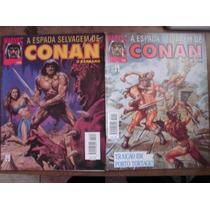 A Espada Selvagem De Conan O Bárbaro Nºs 12 A 190 1ª Edição