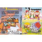 Dvd Os 3 Três Porquinhos O Melhor Desenho Frete Gratis
