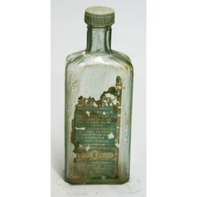 Vidro Farmácia Antigo - Balsamo Bukru (tampa Rosca)