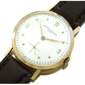 Relógio Masculino Vacheron & Constantin Geneve Em Ouro J5183