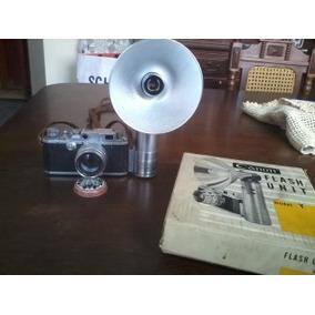 Canon Camera No.158061 Canon Lens 50mm Flash Unit Model Y
