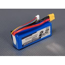 Bateria Turnigy Lipo 11.1v 2200mah 30c 3s T-rex 450 Jr Hk