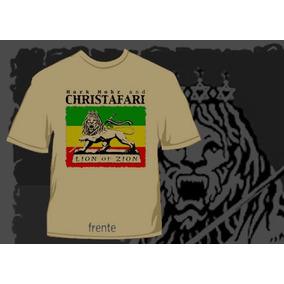 Camisa Christafari Gospel Reggae Jesus Bob Marley Rasta Rock