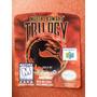 Label Mortal Kombat Trilogy - Etiquetas Fitas N64 100% !