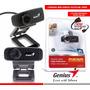 Camara Web Webcam Genius Facecam 1000x Hd 1.3 Mpx Micrófono