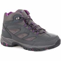 Zapatillas Botas Hi Tec Moreno Trekking Impermeables Mujer