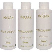Inoar Argan Oil Arganplex Kit Trio (3 X 120ml)