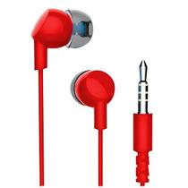 Havit Audifonos Manos Libres Celular Tablet 3.5 E86p Rojos