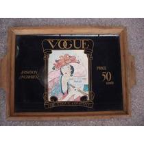 Bandeija Vogue Anos 60- Raridade