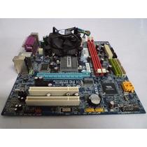 Kit Placa Mãe Gigabyte Ga Vm900m + 1gb + Dual Core 1.80 Ghz