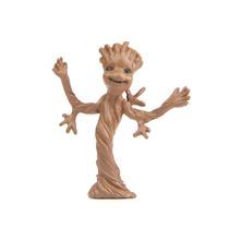 Mini Groot Guardiões Da Galáxia Desenho Marvel Boneco 3.7cm