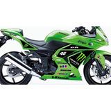 Kawasaki Ninja 250r 2012 E Vendo Kit Adesivo Ninja 250 300