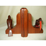 Serra Livros -aparador De Livros Tucanos Art Deco