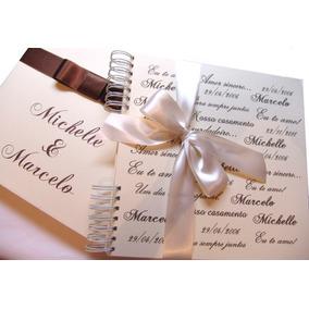 Álbum Casamento Namorados Noivado Scrapbook Fotos Mensagens
