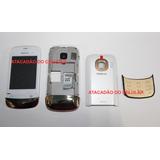 Carcaça Nokia C2-02 C2-03 C2-06 Original C/ Teclado Completa