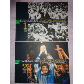 Livro Flashazzurri Una Storia Mondiale Copa 1-2 Vol.
