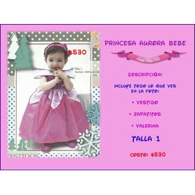 Vestido Princesa Aurora Bebe Bella Durmiente Disfraz Calidad