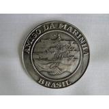 Medalha Antiga E Diploma - Amigo Da Marinha - 1971