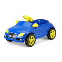 Carrinho A Pedal Audi Tt Homeplay Infantil Criança Azul
