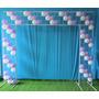 Suporte Painel Balão Bexiga Aniversario Banner 147 Balões