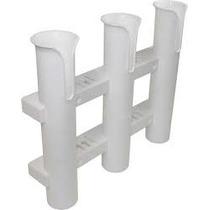 Porta Cañas Triple Blanco