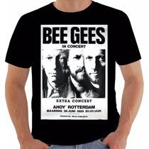 Camiseta Poster Original European Tour 1993 The Bee Gees
