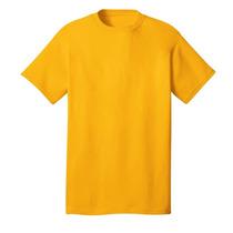 Franelas Unicolor (algodón Y Poliéster Tejido Jersey)
