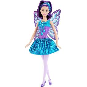 Boneca Barbie Reinos Mágicos - Fada Do Reino Dos Diamantes D