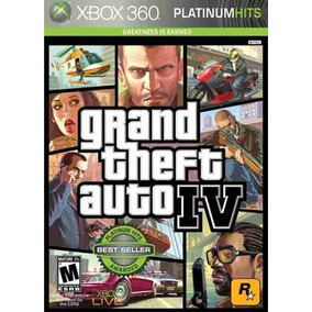 Gta 4 Grand Theft Auto Iv 4 Xbox 360 Original