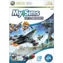 Jogo Lacrado Manual Em Pt My Sims Sky Heroes Para Xbox 360