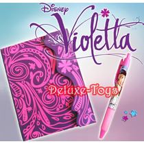 Violetta Disney Pack - Diario + Caneta + Stickers!!!!!