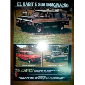 Folder El Rabit F1000 D10 Catalogo Gm Ford Pickup Caribe 4x4