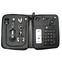 Kit Para Notebook Com Mini Mouse, Webcam, Hub, Teclado Numer