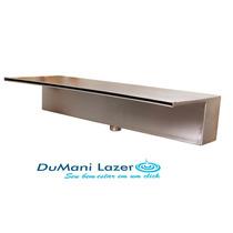 Cascata Em Inox Para Piscina - Embutir Lamina Longa 60cm