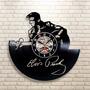 Elvis Presley - Relógio De Parede Disco De Vinil