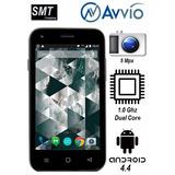 Celular Avvio 776 5 Mpx+1.0ghz+4gb+android 4.4+pantalla 4