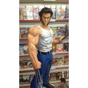 Estatua Resina Wolverine (logan) Marvel Comics X-men 38cm