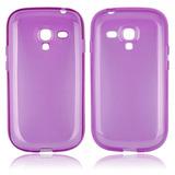 Capa Tpu Galaxy S Iii Mini I8190 Translúcida